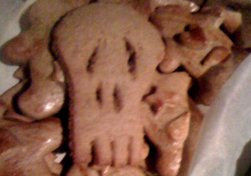 special mention to @moif for producing these skull biscuits