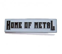 Home of Metal enamel badge