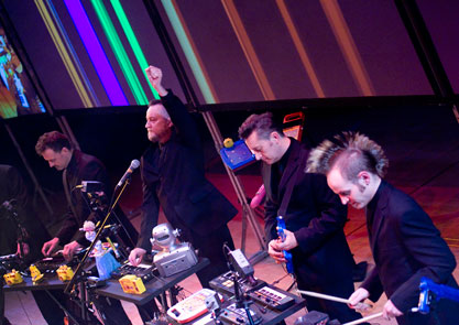 Modified Toy Orchestra perform Plastic Planet