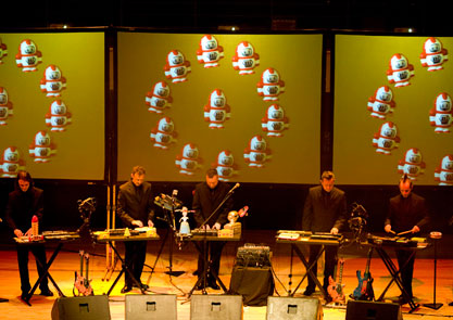 Modified Toy Orchestra at Town Hall Birmingham