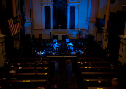 St Paul's Church - a beautiful place to hear live music