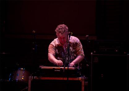 Nicholas Bullen performing Component Fixations