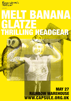 MELT BANANA + THRILLING HEADGEAR + GLATZE