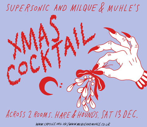 Supersonic and Milque & Muhle's Xmas cocktail