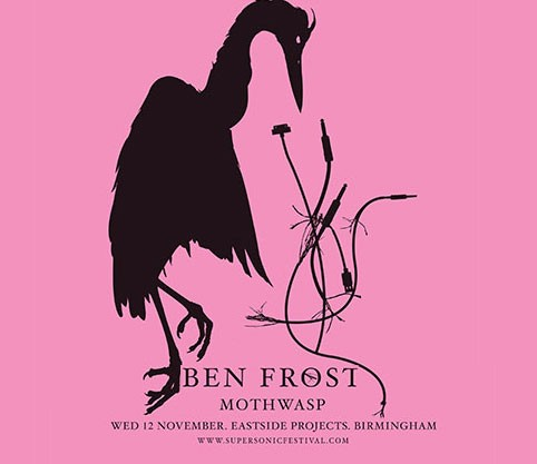 Ben Frost with Greg Fox poster